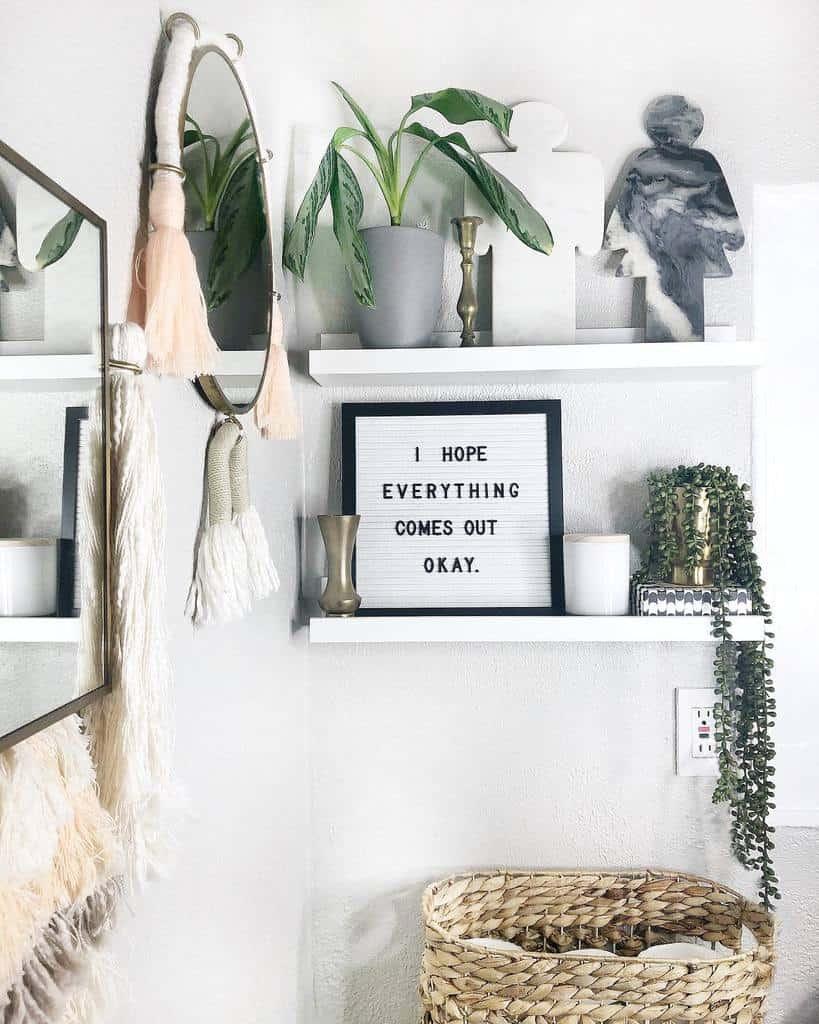 Shelves Over The Toilet Storage Ideas -candysprad