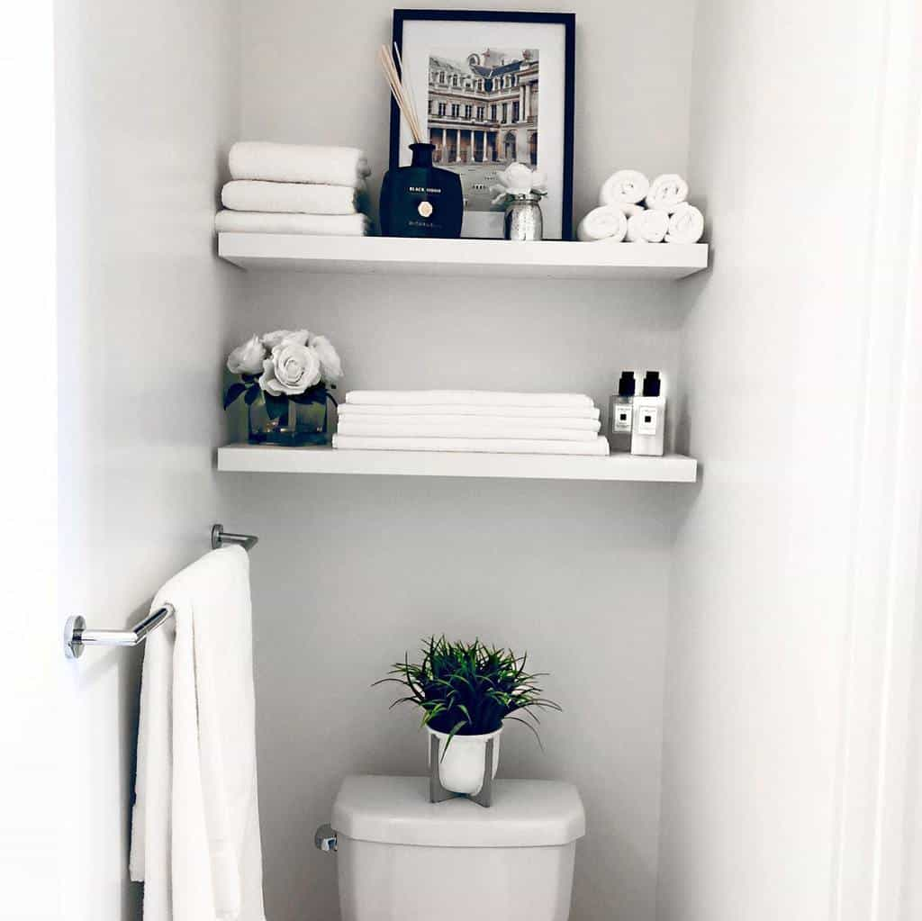 Shelves Over The Toilet Storage Ideas -hibaqmurad
