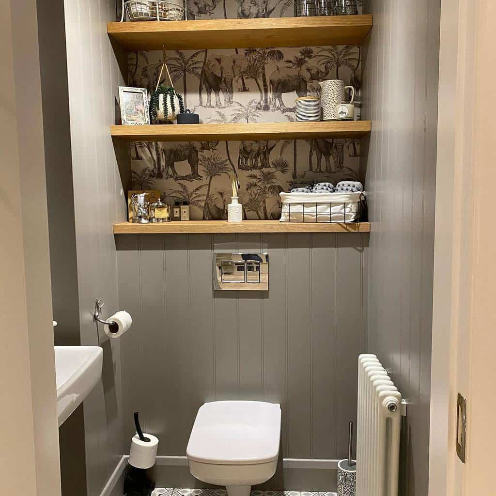 Shelves Over The Toilet Storage Ideas -home_made_by_mia