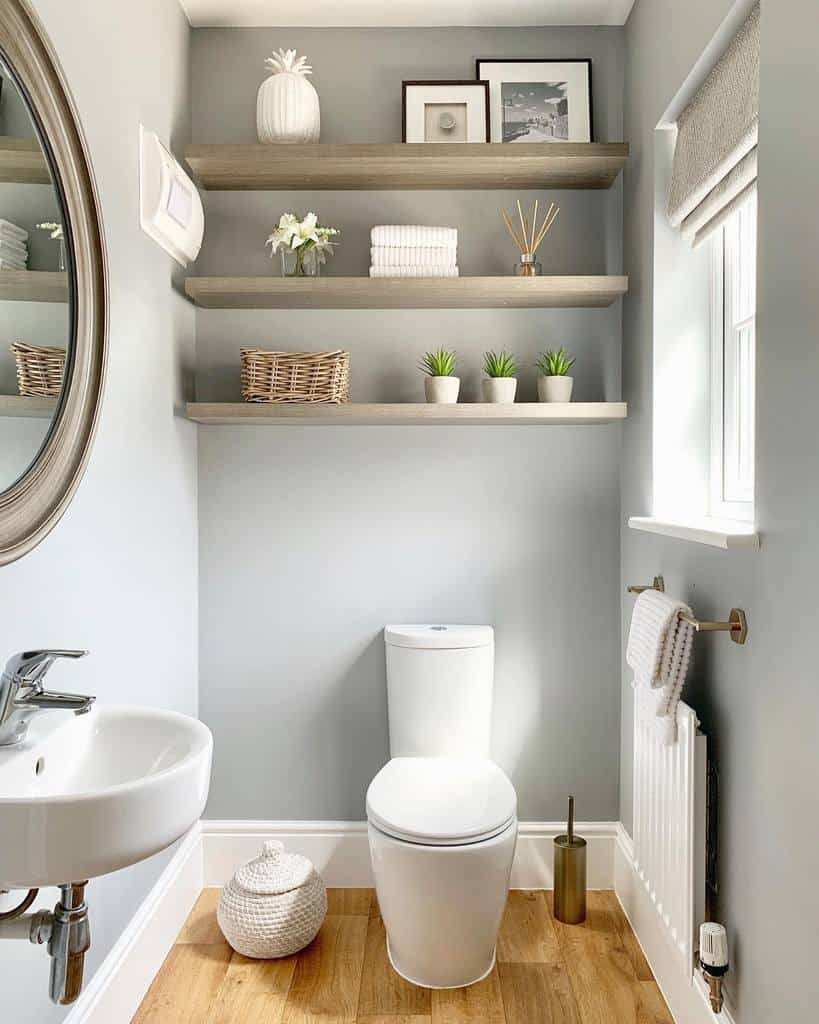 Shelves Over The Toilet Storage Ideas -interiorbylindseyvictoria