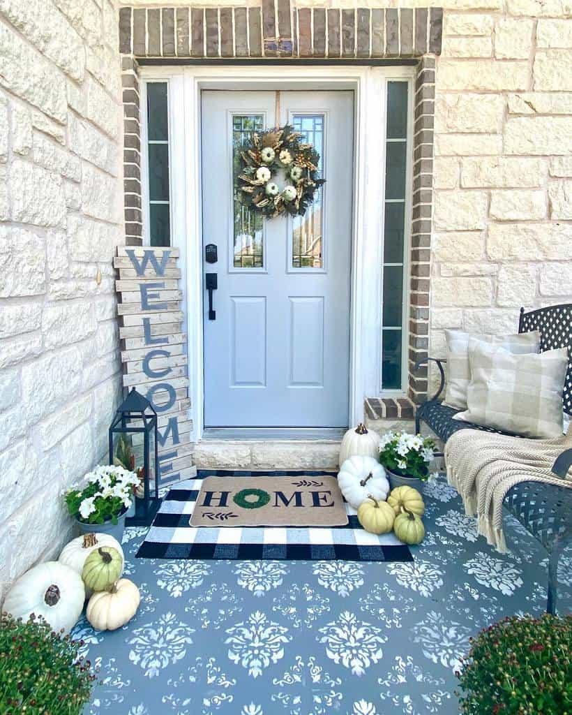 Sign Front Porch Decorating Ideas -estherfranc2020