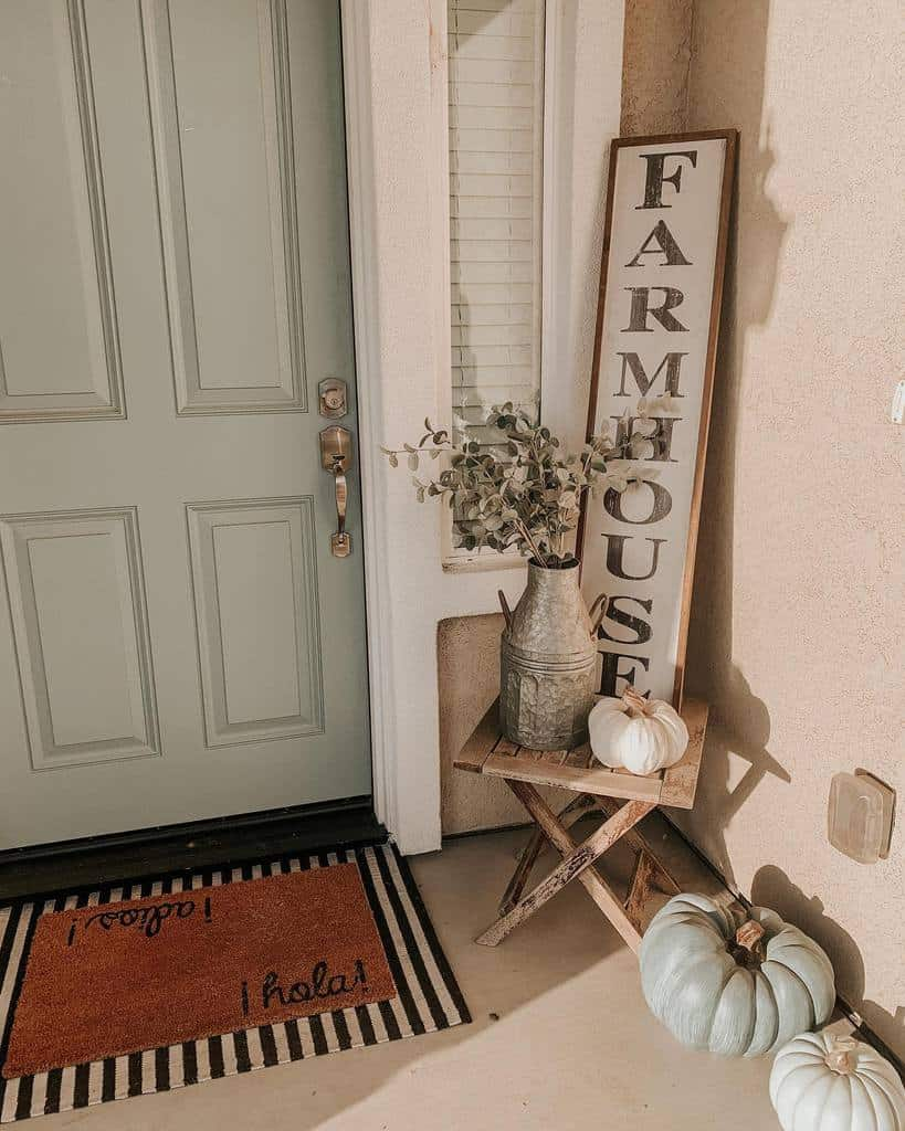 Sign Front Porch Decorating Ideas -stephanies.newman.home