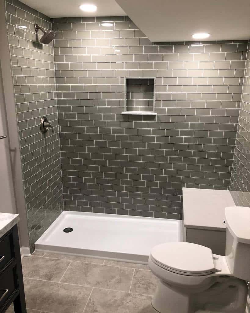 Simple Doorless Walk In Shower Ideas -kc_bathroomremodeling