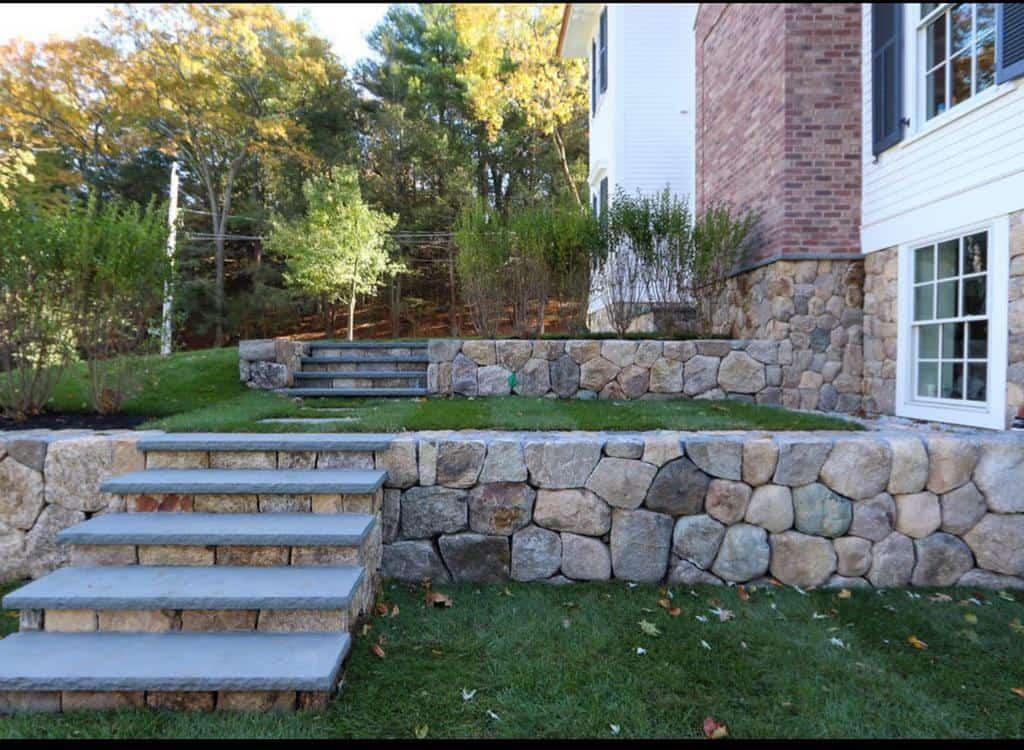 Slope Garden Hardscaping Ideas -aronebrothers