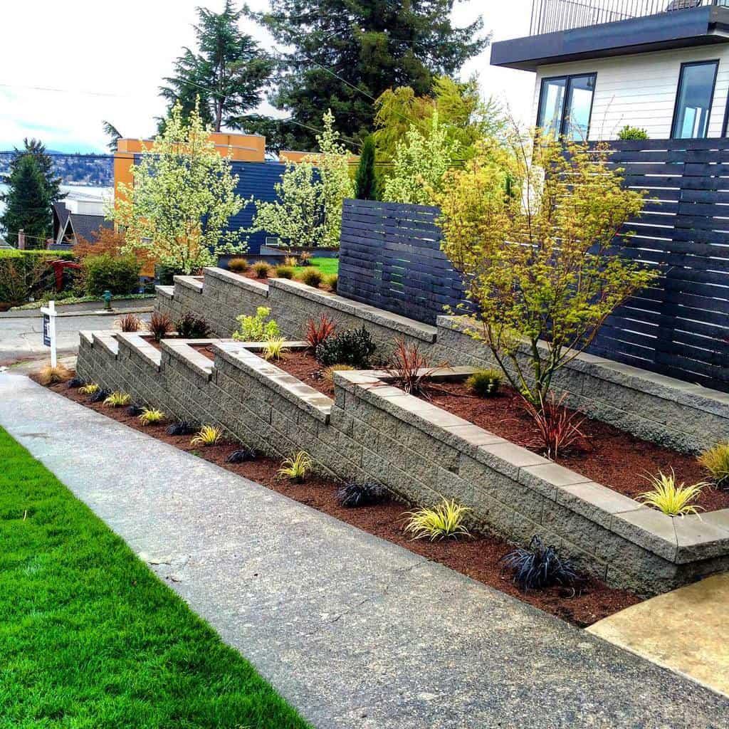 Slope Garden Hardscaping Ideas -imperialhardscape