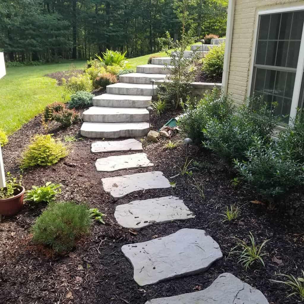 Slope Garden Hardscaping Ideas -timelessconstruction5867