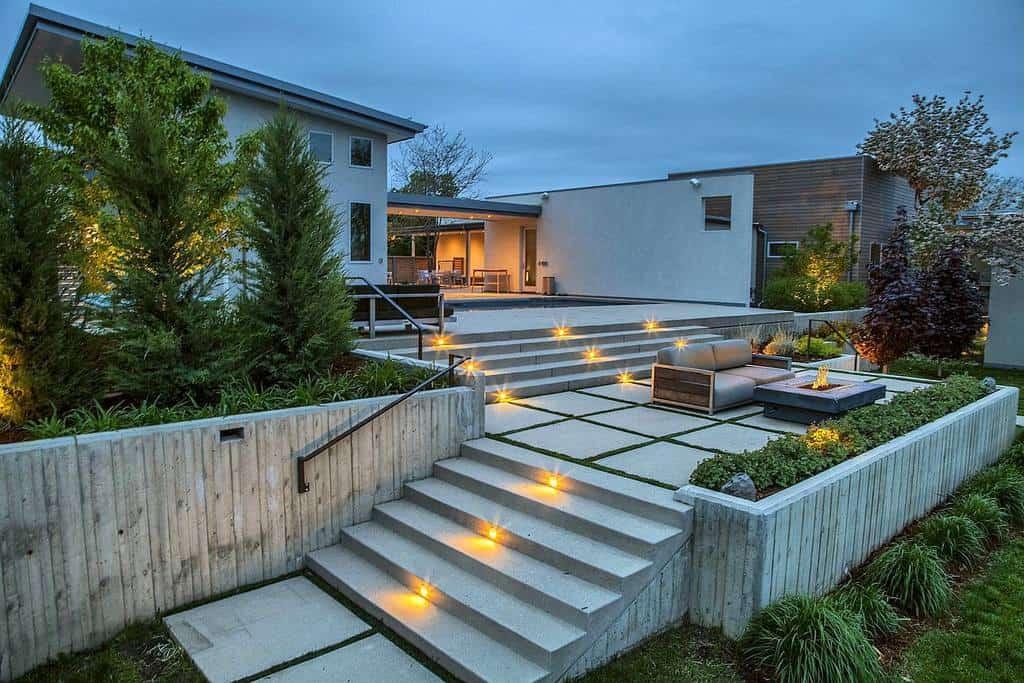 Slope Garden Hardscaping Ideas -tlc_gardens