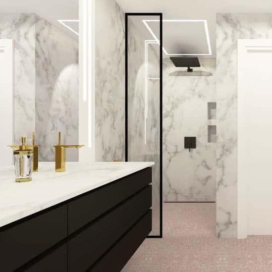 Small Doorless Walk In Shower Ideas -emiliakonaszewska