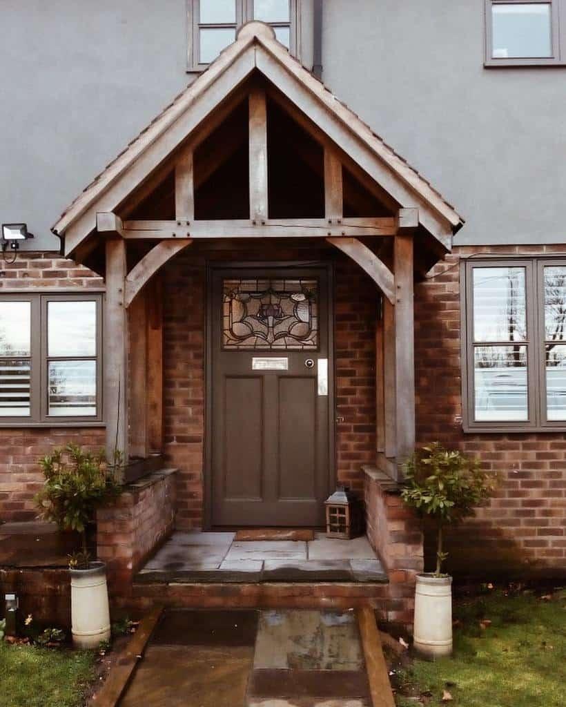 Small Front Porch Decorating Ideas -oakyardporches