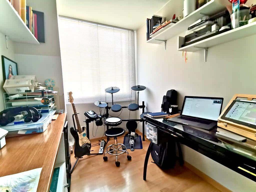 Small Music Room Ideas -ac.decoblog