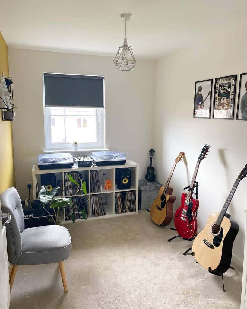 Small Music Room Ideas -theblair_tw