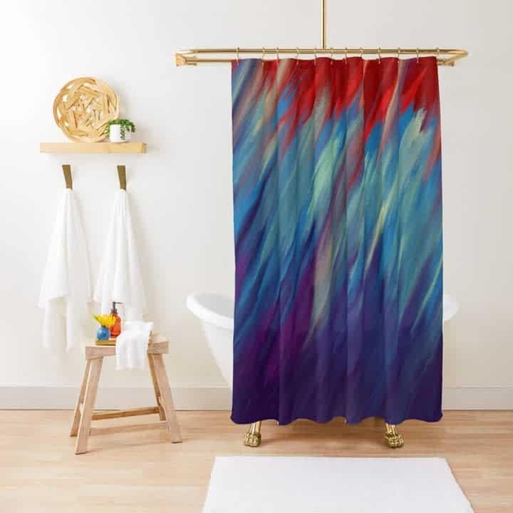 Small Shower Curtain Ideas -danigotbarz