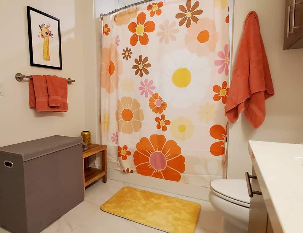 Small Shower Curtain Ideas -indigoandsageinteriordesign