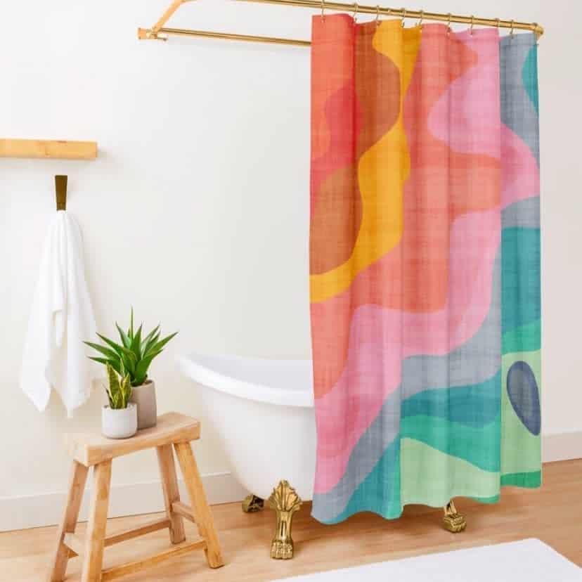 Small Shower Curtain Ideas -lisajayne.murray
