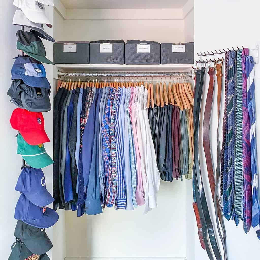 Small Space Clothes Storage Ideas -horderly