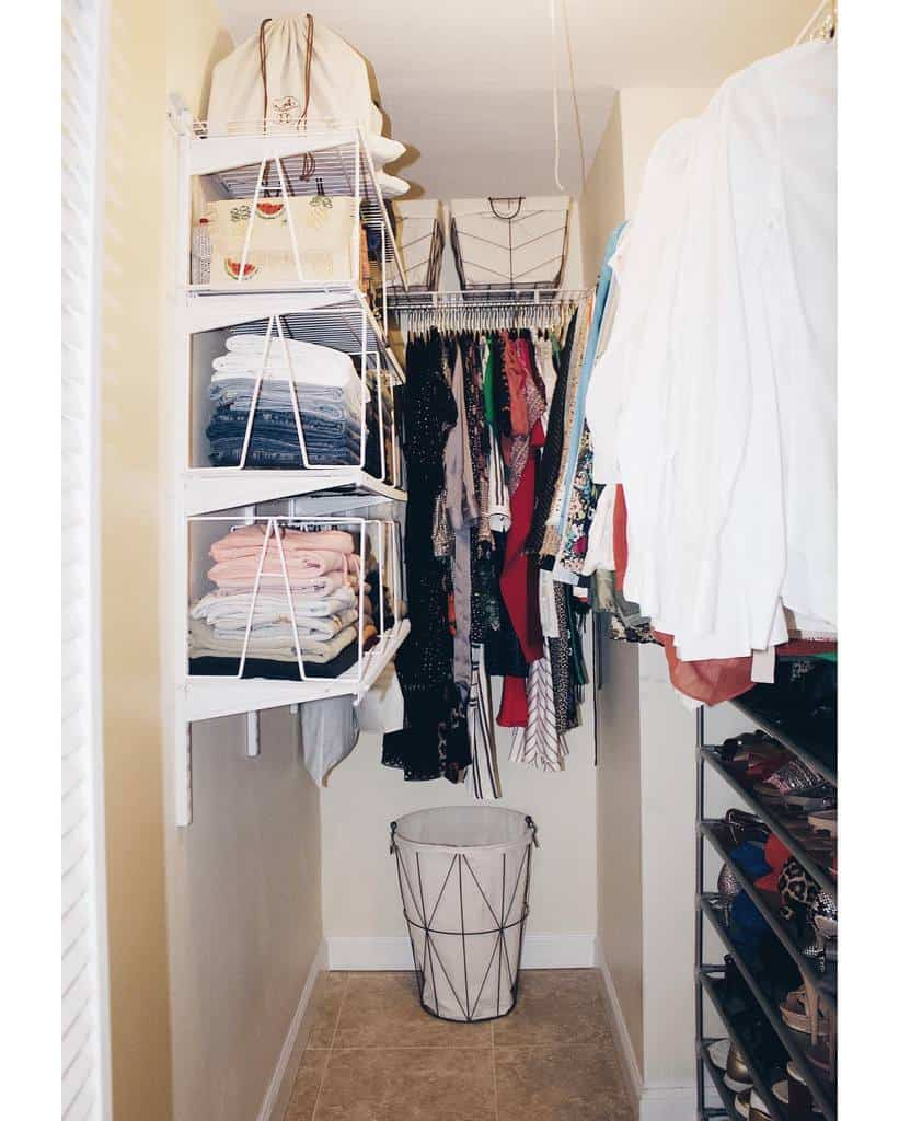 Small Space Clothes Storage Ideas -properspaces
