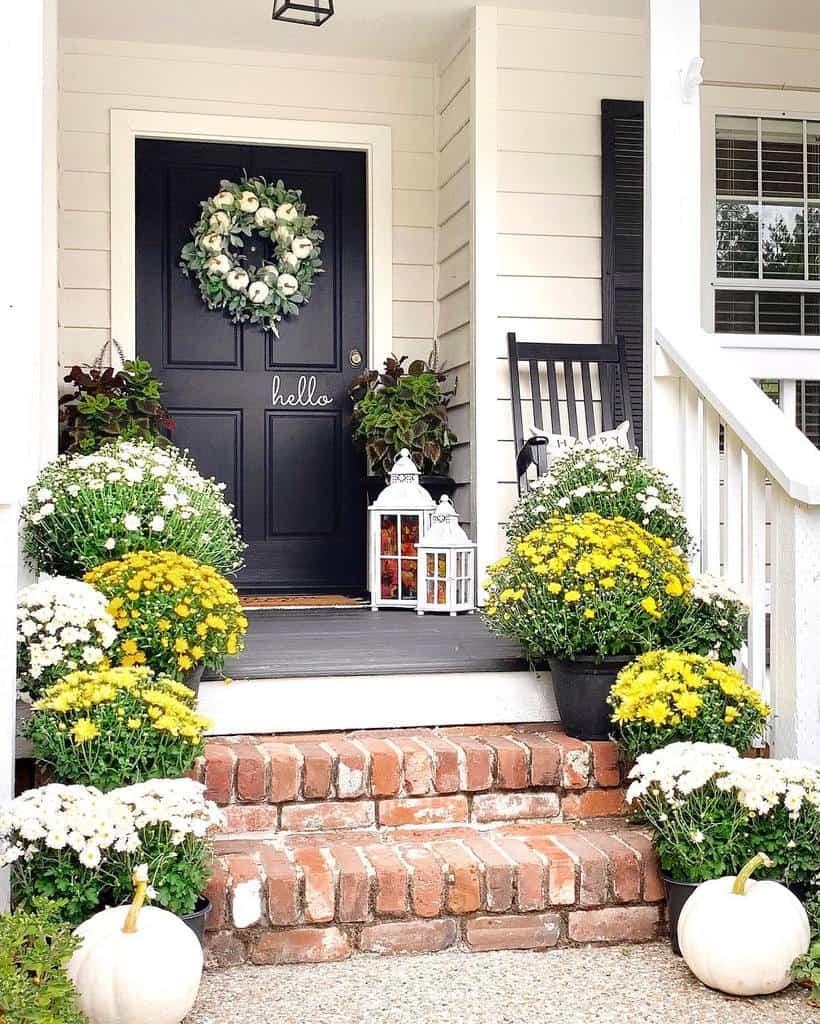 Step Front Porch Decorating Ideas -homehydrangea