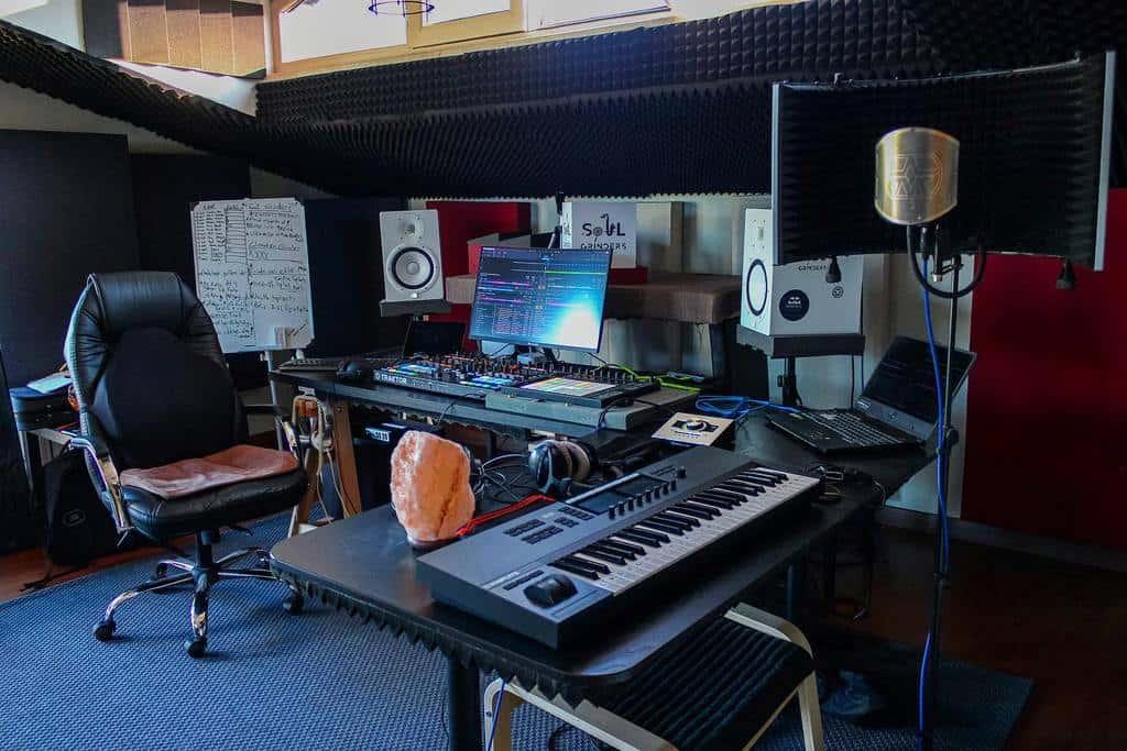 Studio Music Room Ideas -dissonartmusic