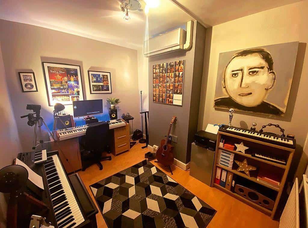 Studio Music Room Ideas -tommygardner