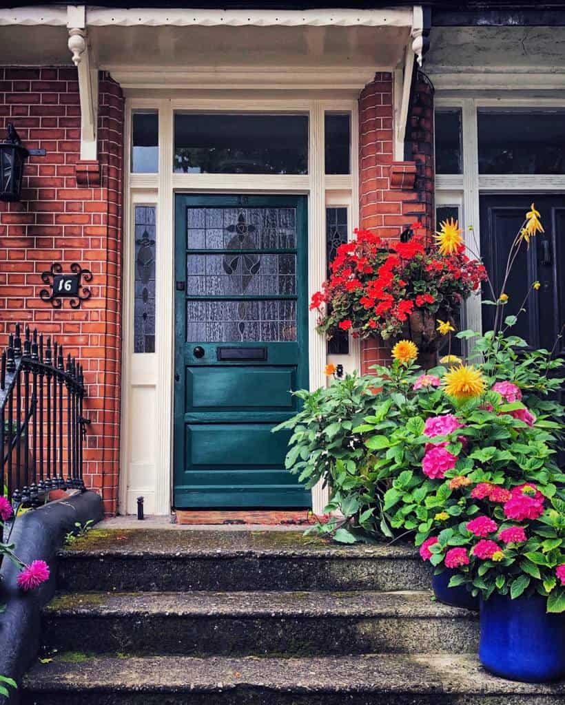 Summer Front Door Ideas -antoinetteereilly