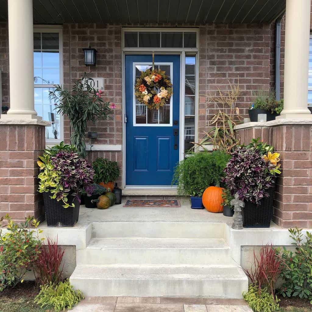 Summer Front Door Ideas -haus_of_florabundance