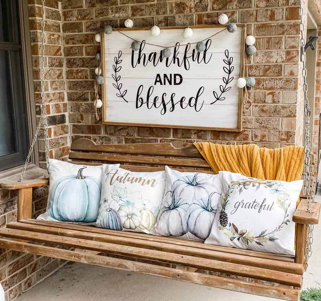 Swing Front Porch Decorating Ideas -raeganewest