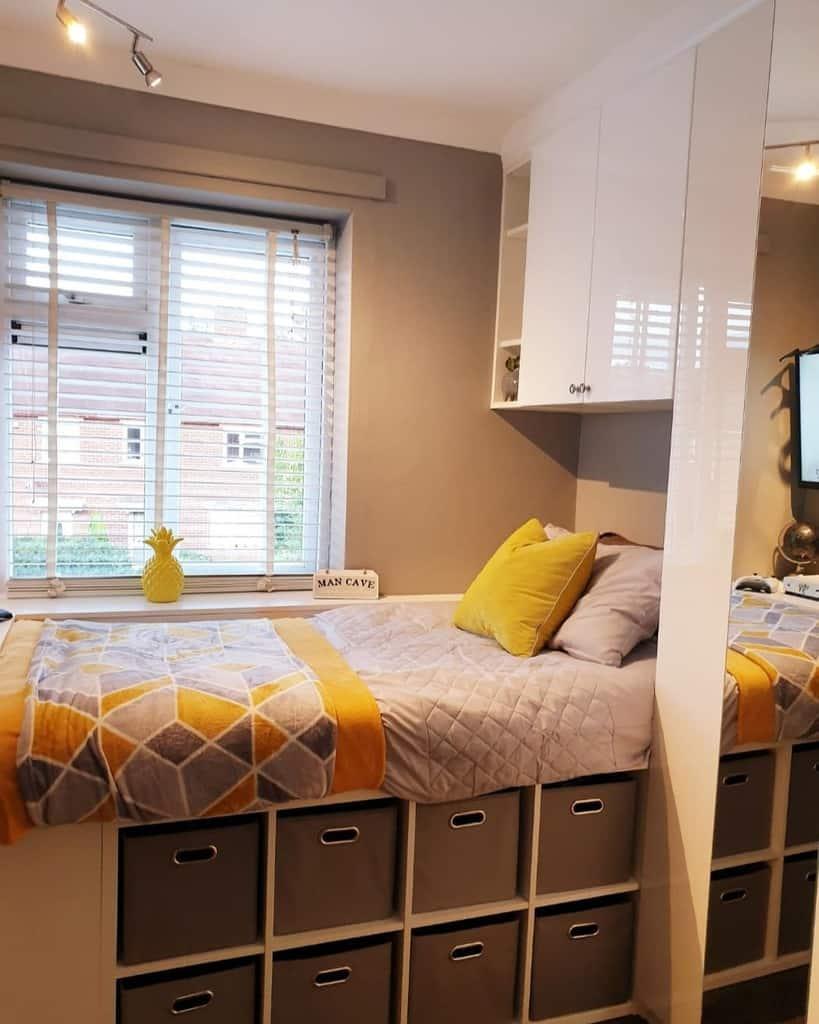 Under Bed Clothes Storage Ideas -bridges_home