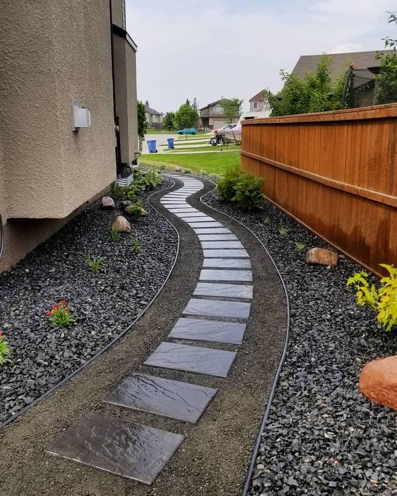 Walkway Hardscaping Ideas -evergreencustomlandscaping