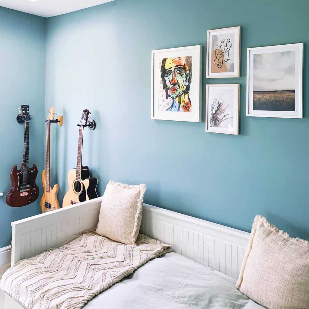 Wall Color Music Room Ideas -coffeewithmegxo
