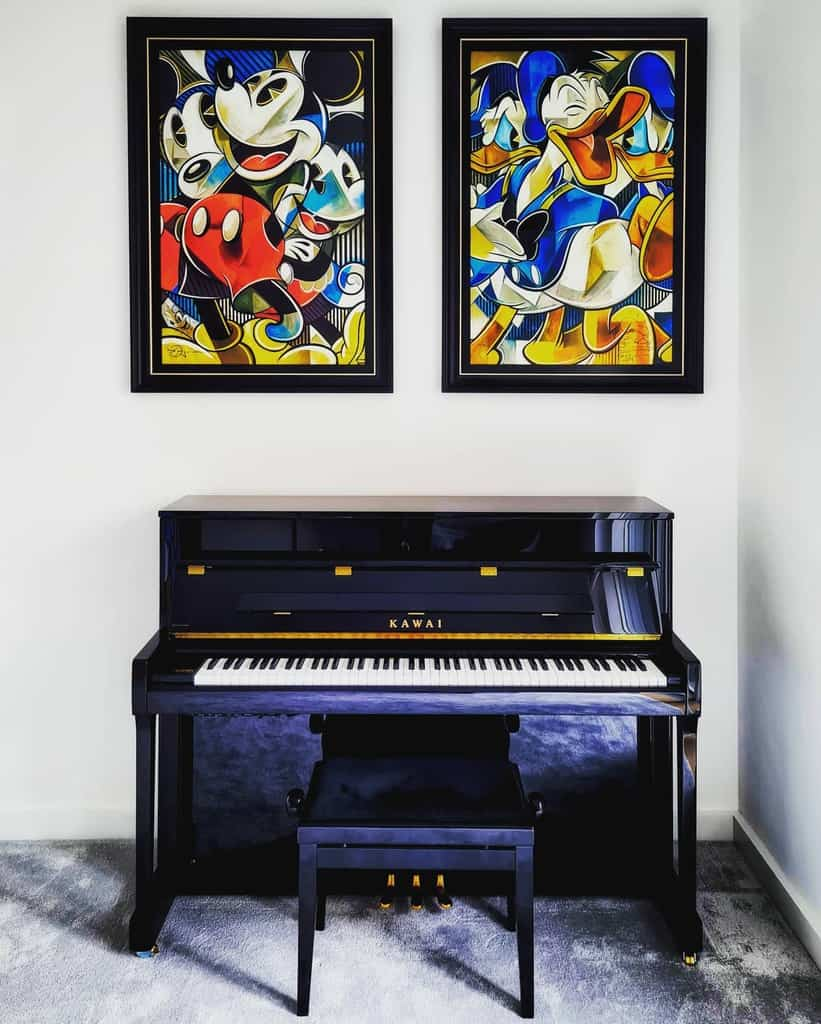 Wall Decor Music Room Ideas -tobi_london