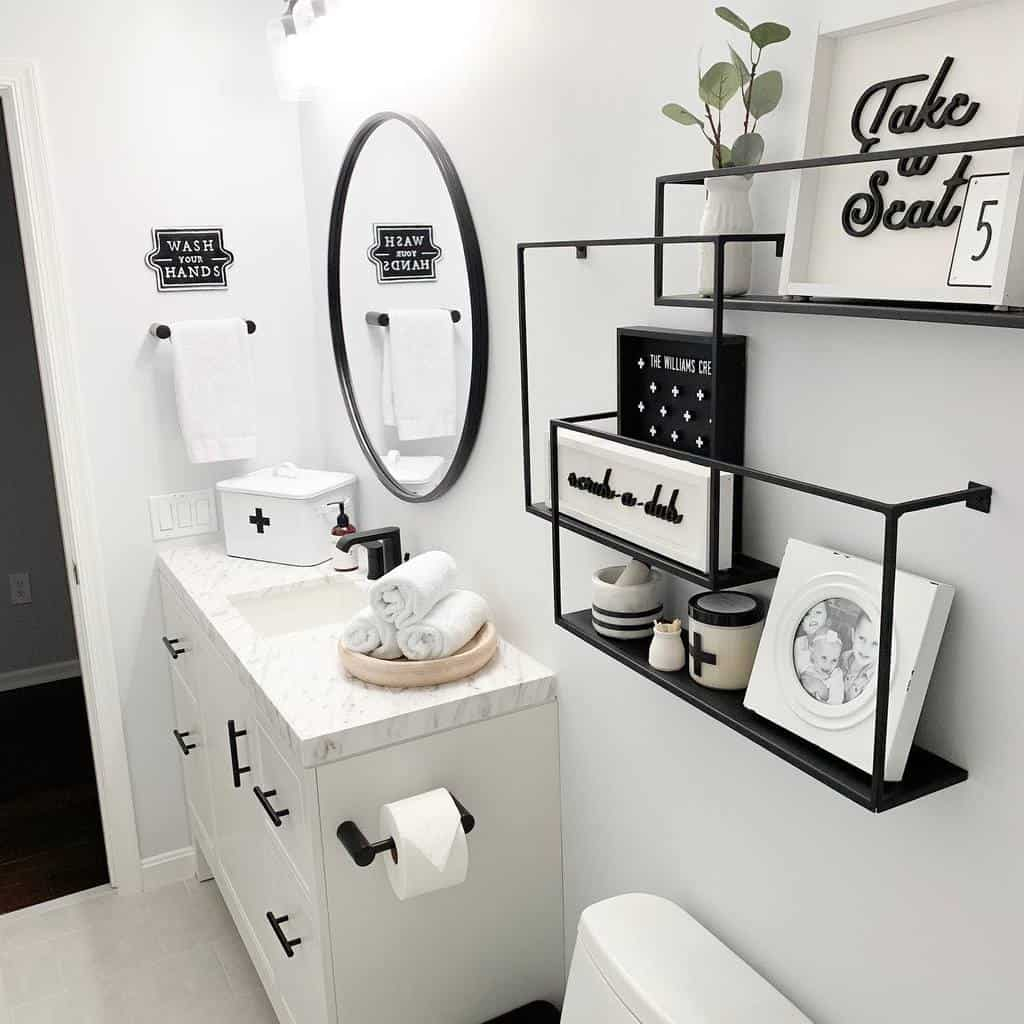 Wall Hang Over The Toilet Storage Ideas -champagne.chaos