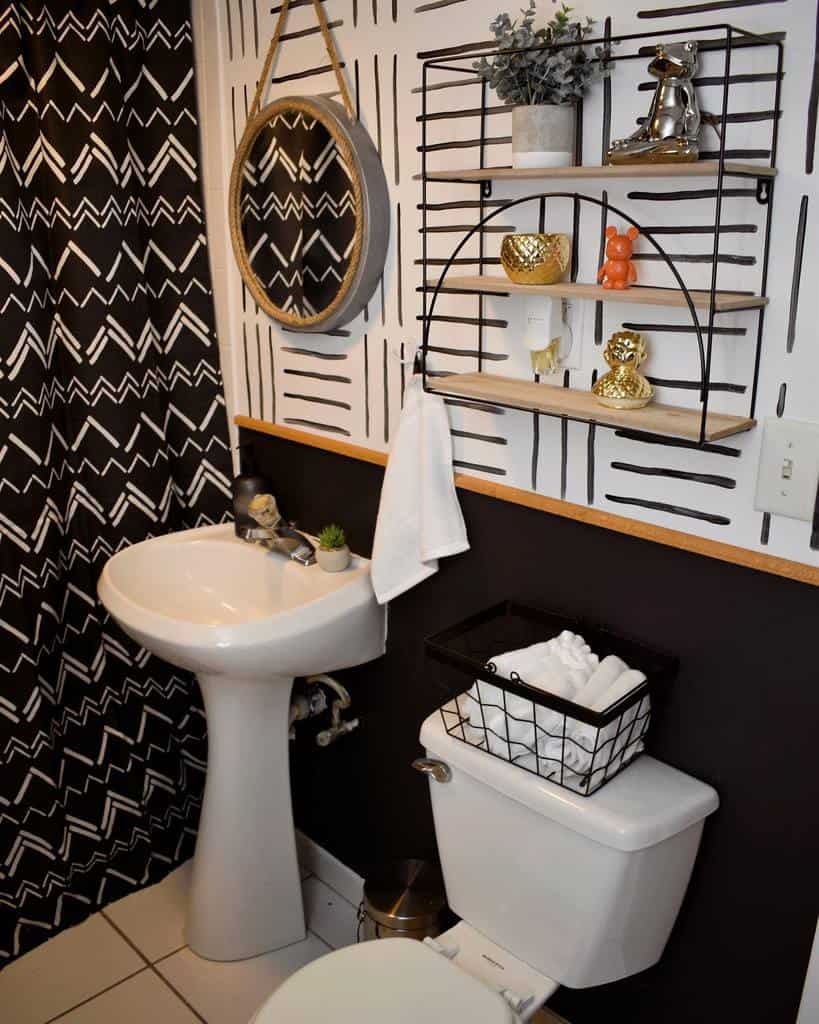 Wall Hang Over The Toilet Storage Ideas -diyginnychi