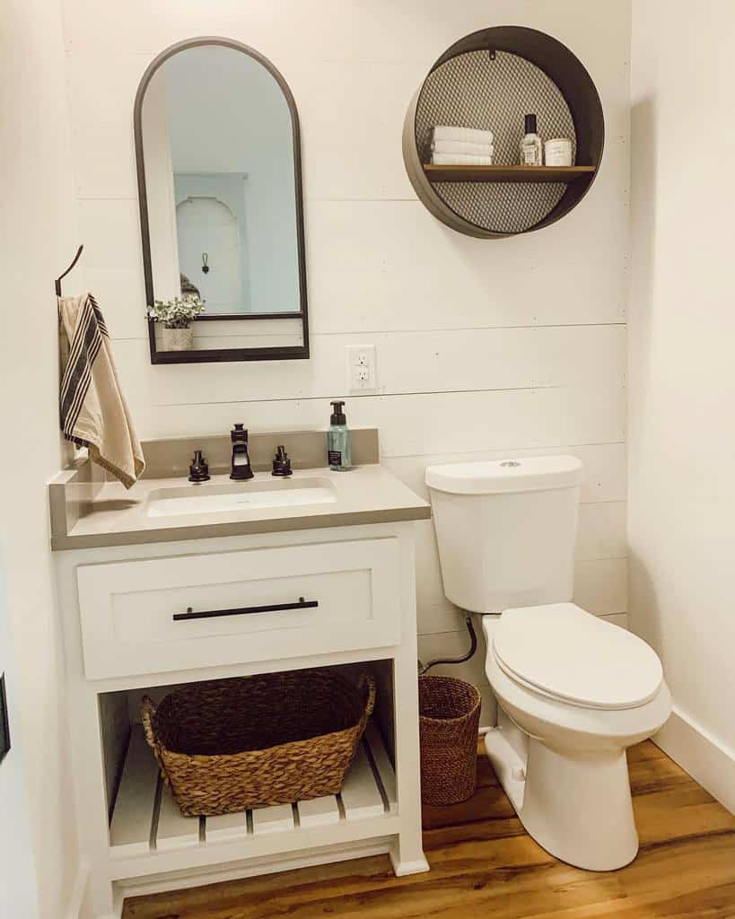 Wall Hang Over The Toilet Storage Ideas -forever.six.acres