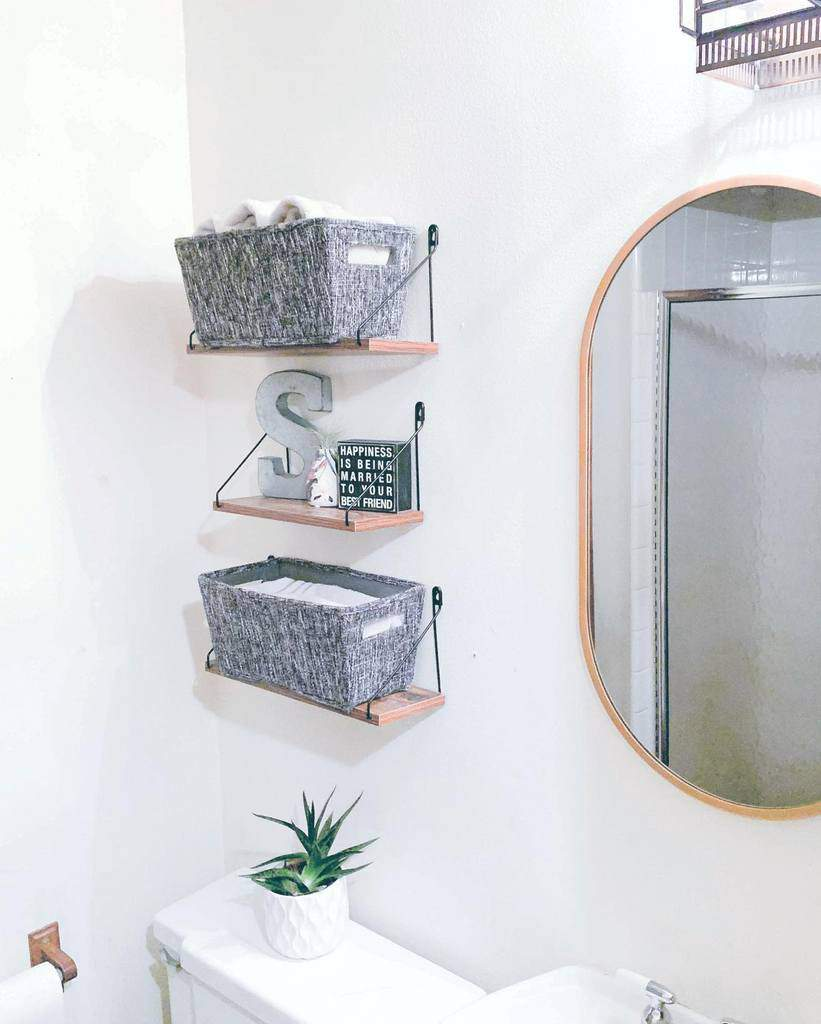 Wall Hang Over The Toilet Storage Ideas -pineapple.pepper.organization