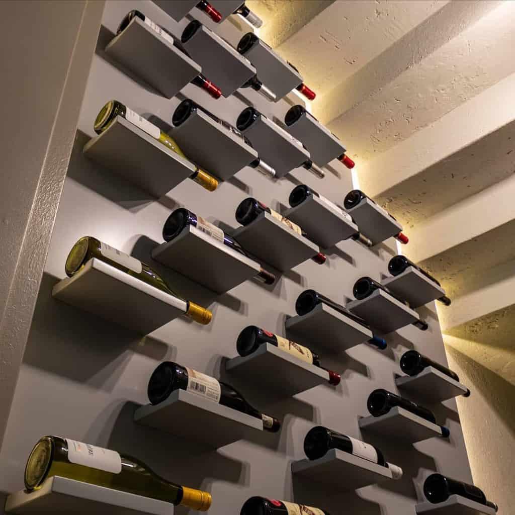 Wall Mount Wine Rack Ideas -drecoprojects