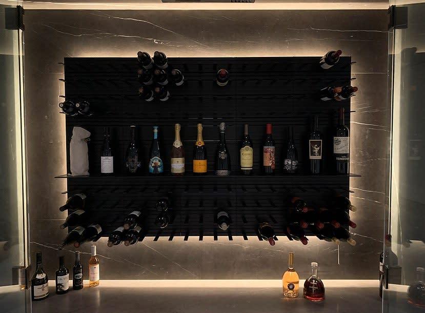 Wall Mount Wine Rack Ideas -glasswinecellars