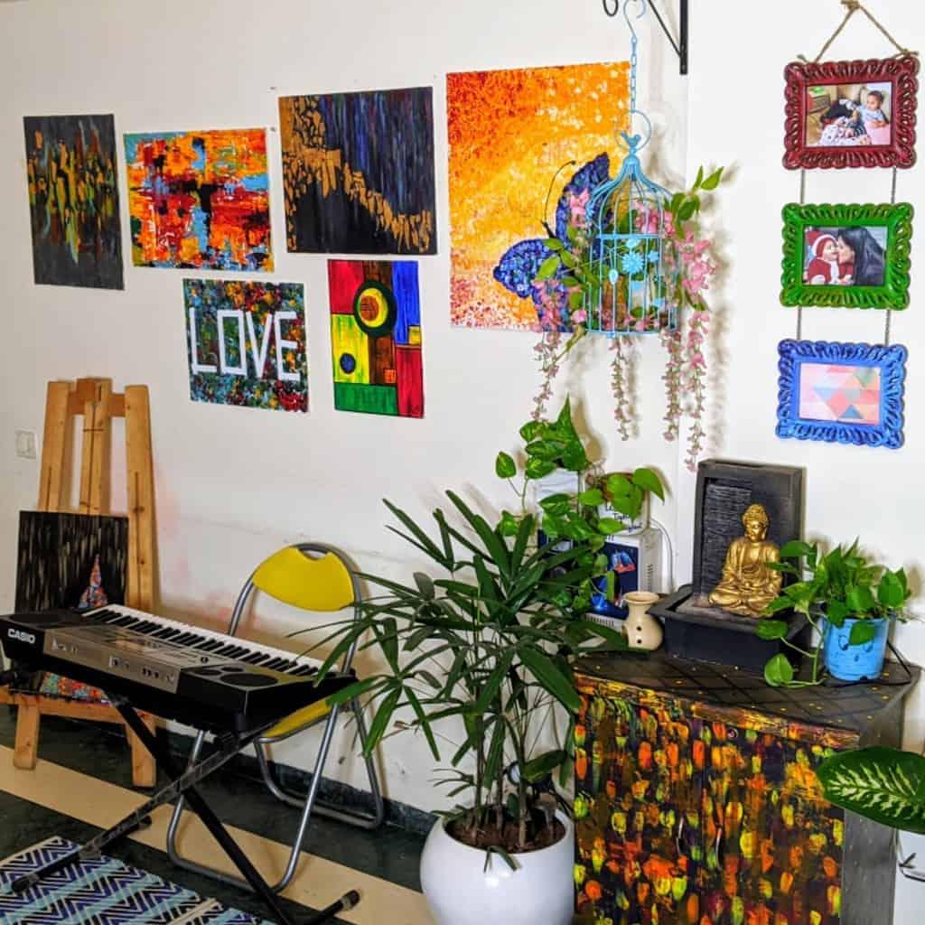 Wallart Music Room Ideas -curlymom_littleblue