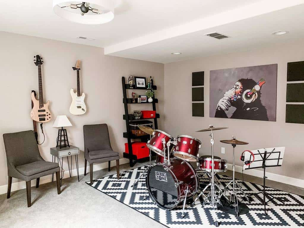 Wallart Music Room Ideas -hilodecorjulie