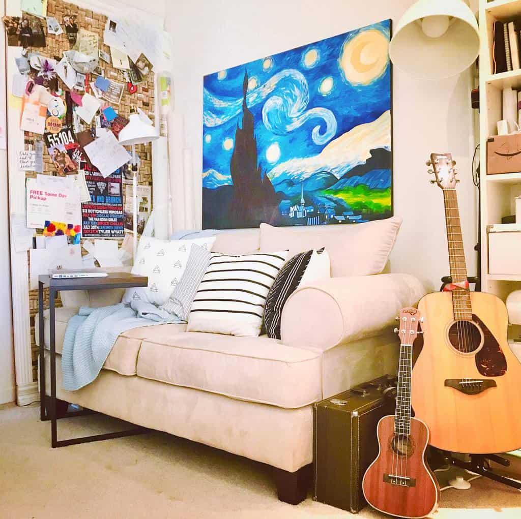Wallart Music Room Ideas -sarahfgies