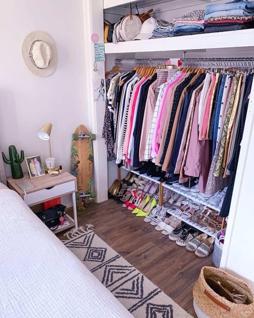 Wardrobe Clothes Storage Ideas -letishafrances