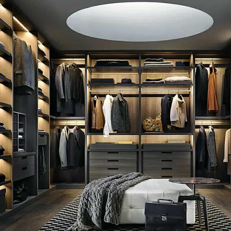 Wardrobe Clothes Storage Ideas -techqlla