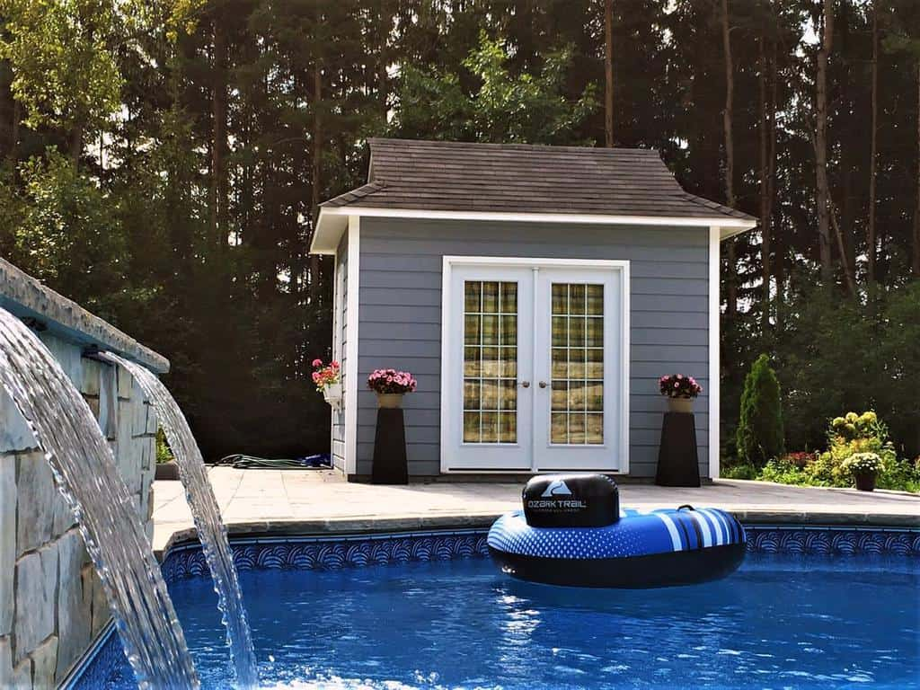 Water Fall Small Pool Ideas -summerwood_products