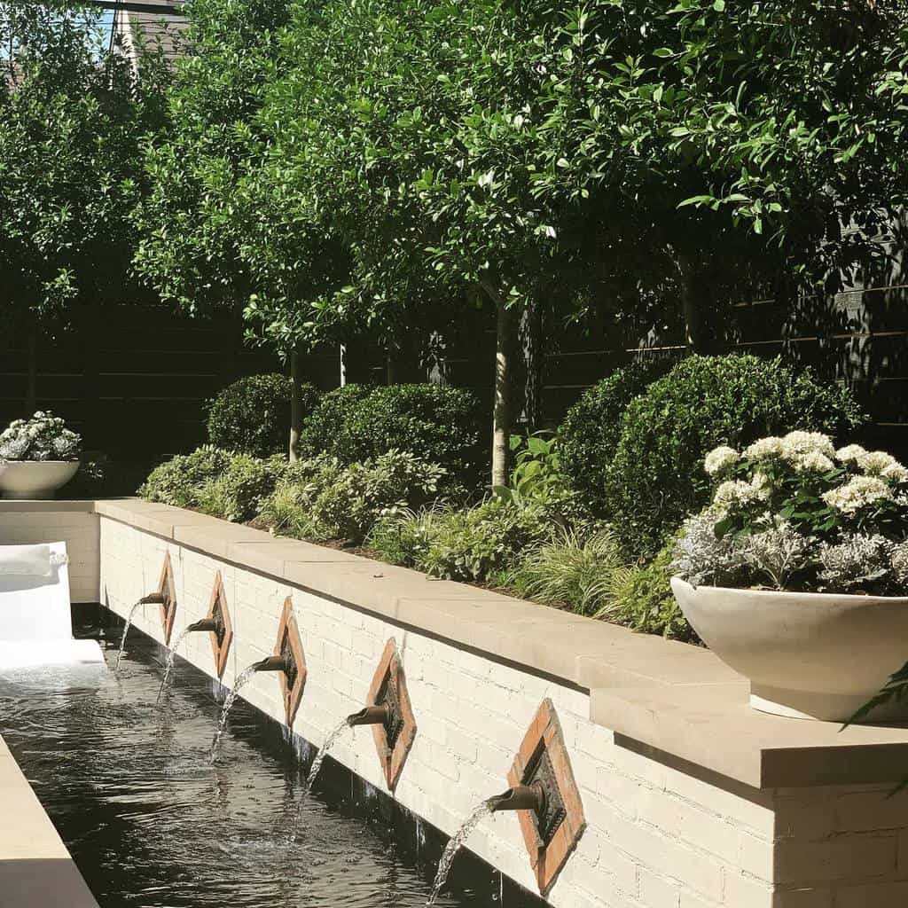 Water Feature Hardscaping Ideas 2 -melissagerstledesign