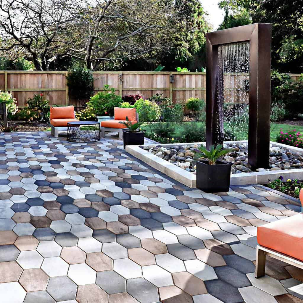 Water Feature Hardscaping Ideas -vbpatios