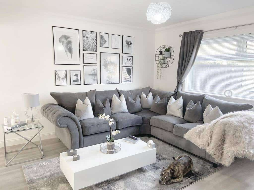 White Coffee Table Ideas -home.at.33