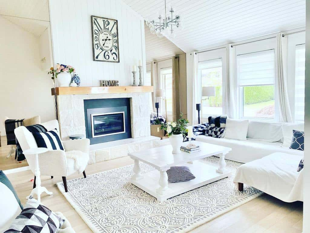 White Coffee Table Ideas -our_sweet_domicile