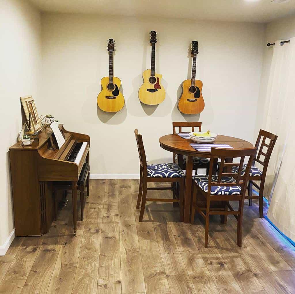 White Music Room Ideas -bradenlyle93