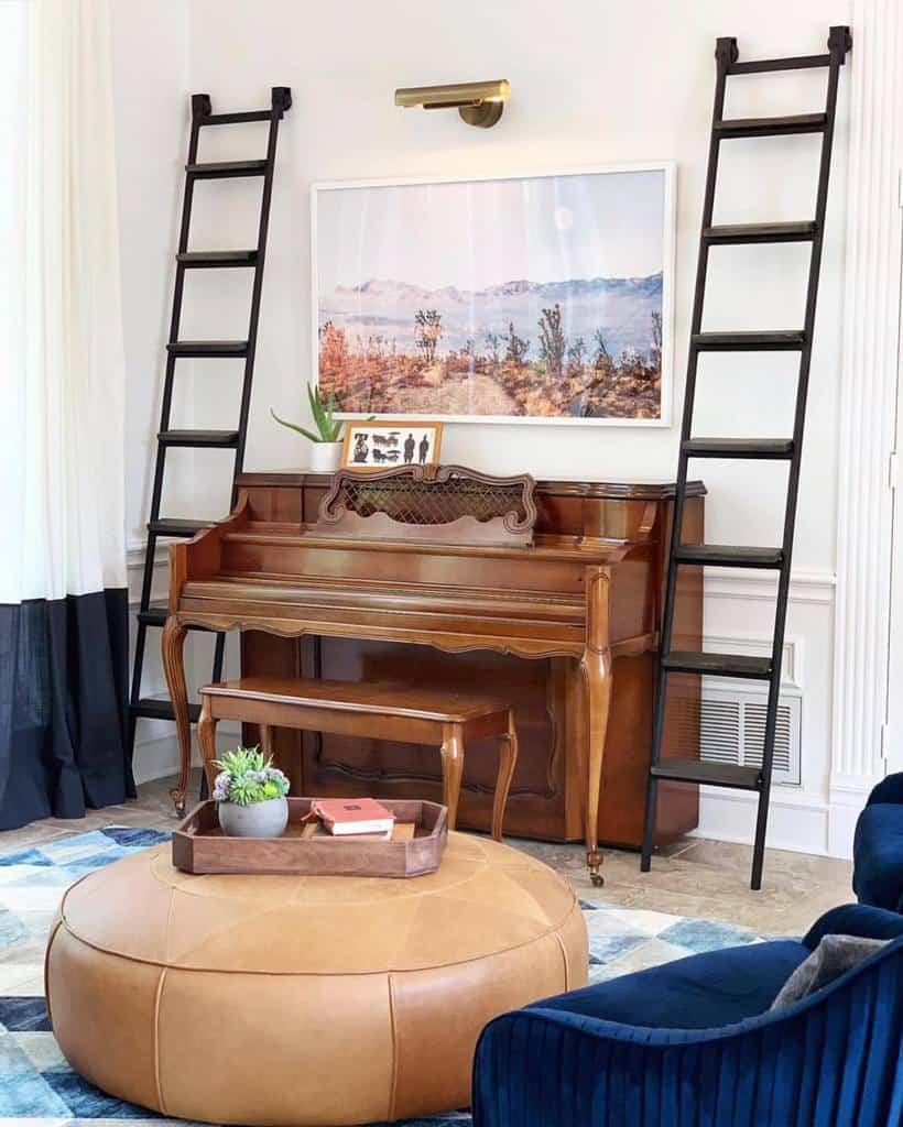 White Music Room Ideas -refreshinglychic