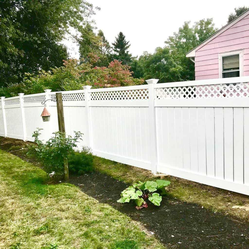 White Pallet Fence Ideas -fence_x