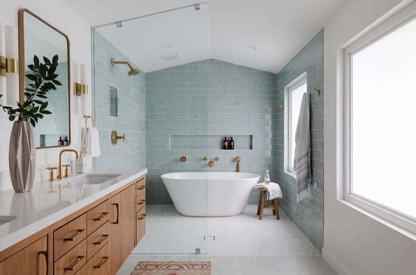 Bath Wet Room Ideas -alexandra.killion.interiors